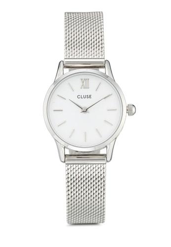 CLUSE silver La Vedette Mesh Silver/White EF045AC6517CC2GS_1