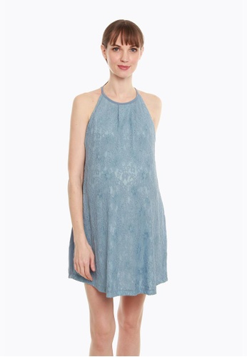 Bove by Spring Maternity blue Cydney Dress 2C068AAECFB3D0GS_1
