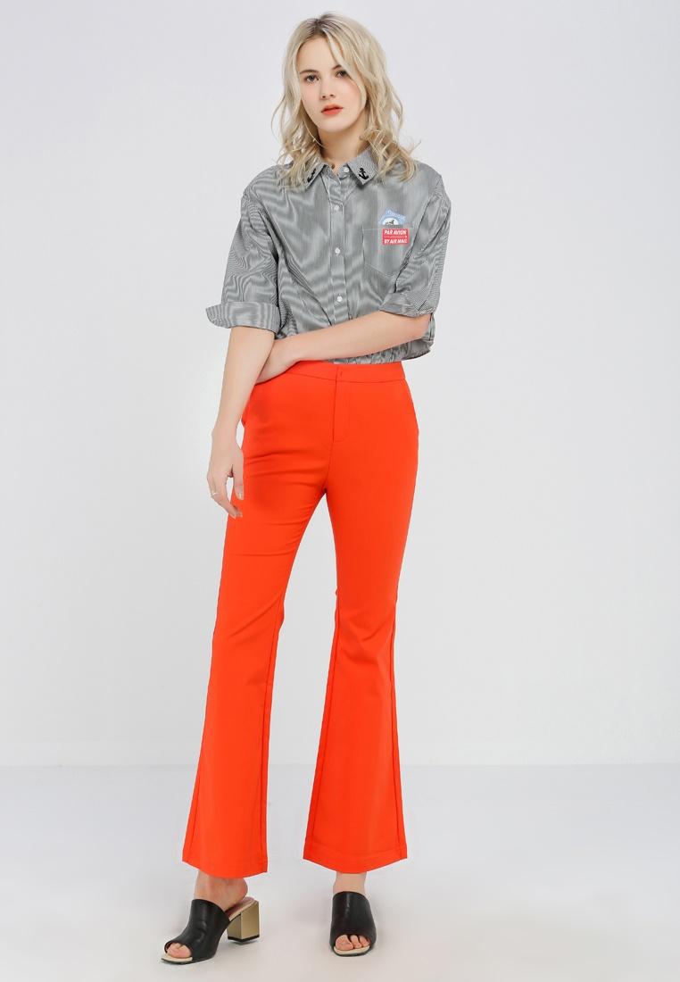 Long Bottom Pants Orange Bell Hopeshow 1CxgfwEw
