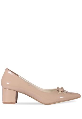 CLAYMORE beige Claymore Mid Low Heels  MZ - 1723 Cream CL635SH97VCCID_1