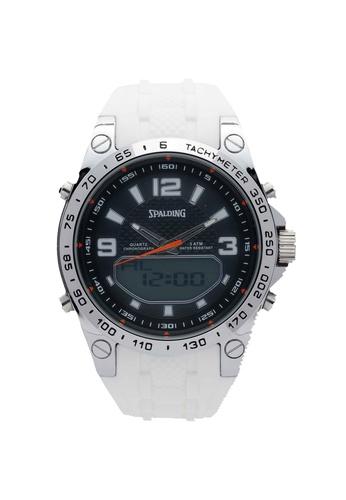 Spalding white SP-110 Watch 12960AC2B3353EGS_1