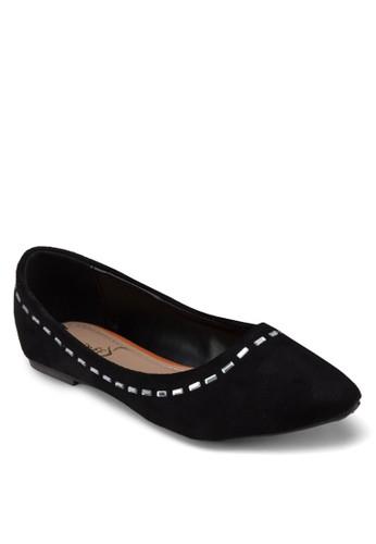 經典珠飾平底鞋, esprit 價位女鞋, 芭蕾平底鞋