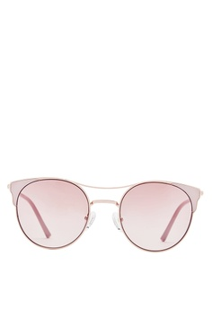 6067168612 Carin pink and beige and gold Carin Anita C3 Cat Eye Sunglasses  07210GL1106872GS 1