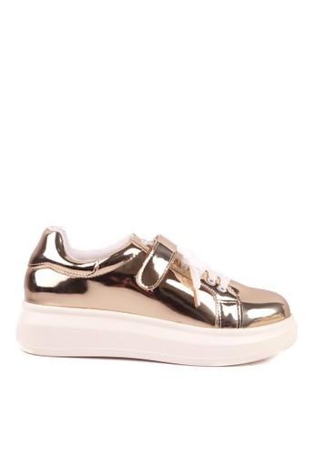 CLARETTE gold Clarette Sneakers Shelby Gold CL076SH85QMKID_1
