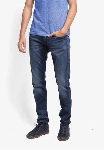 Superdry 藍色 Jogger Jeans A5F4EAAC5BB137GS_1