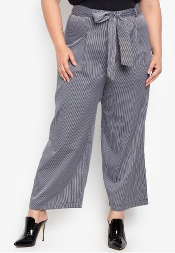 a4bd7c657ba9a8 Shop Hint Plus Size Wide Leg Pants Online on ZALORA Philippines