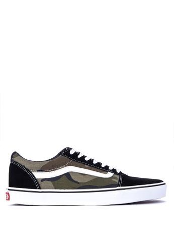 Shop VANS Camo Ward Sneakers Online on ZALORA Philippines ef6116143