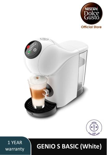NESCAFE Dolce Gusto white GENIO S BASIC Automatic Coffee Machine (White) 78884ESC0446E7GS_1
