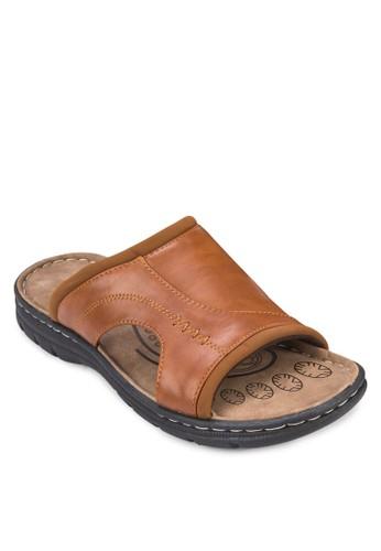 寬帶仿皮esprit bag涼鞋, 鞋, 鞋