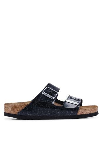 30b1ec8da29d Birkenstock black Arizona Magic Galaxy Soft Footbed Sandals  14987SH9C9C35FGS 1