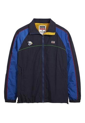 Levi's blue Levi's x Peanuts Colorblock Track Jacket 84448-0001 D57A0AA07E05C0GS_1
