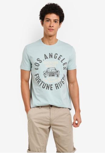 ESPRIT green Short Sleeve T-Shirt 28852AA209D032GS_1