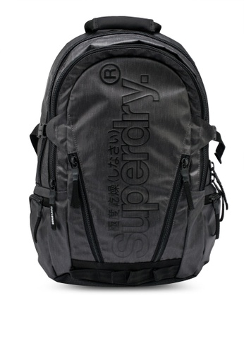 Superdry black Tarp Backpack A1DCBAC1280547GS_1