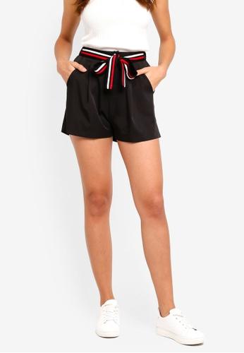ZALORA black Tailored Shorts 29219AADC54714GS_1