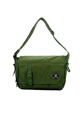 MORAL green Largo Messenger - Basil E3777ACA139EACGS_1