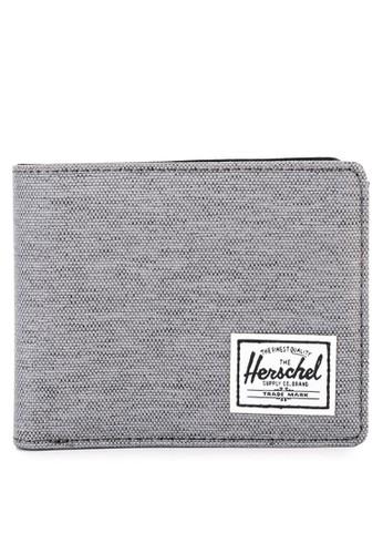 Herschel grey Hank Wallet RFID 1DB32AC3BEF92DGS_1
