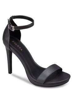Platform Ankle Strap Heel Sandals