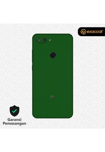 Exacoat Xiaomi Mi 8 Lite 3M Skins True Colors - Emerald Green 64FFCESF2B433DGS_1