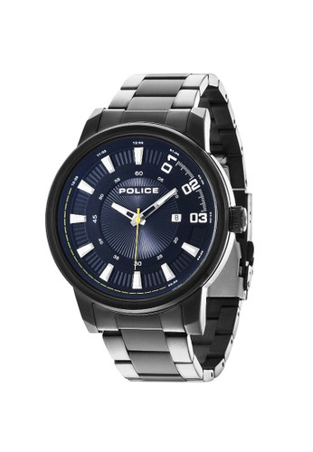 POLICE Sunset Black Stainless Man Watches