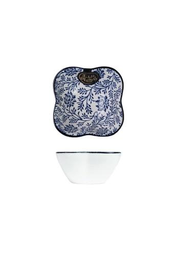 Table Matters multi Floral Blue - Flower Shaped Saucer FDEC3HL7879E7EGS_1