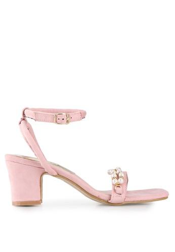 Mandy's pink Astrid Pink Heels MA947SH61DYKID_1