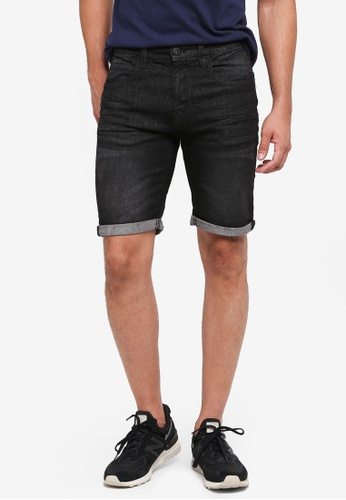Indicode Jeans black Kaden Denim Shorts EC0FBAA9841459GS_1