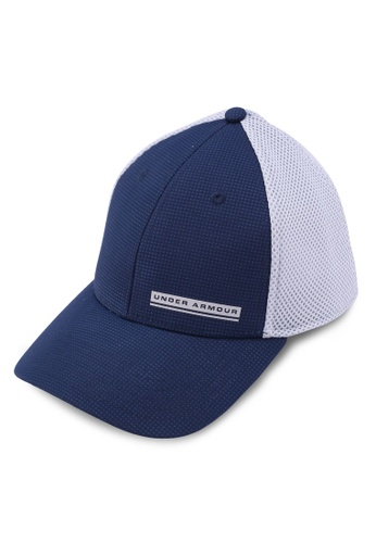 Under Armour navy Men's Train Spacer Mesh Cap BFBF2ACE2CCC6FGS_1