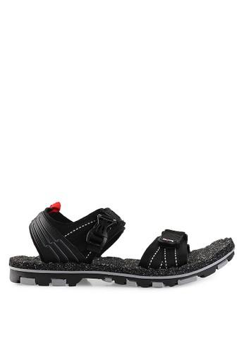 Homyped black Merbabu 01 Men Sandal Gunung HO842SH28PWHID_1