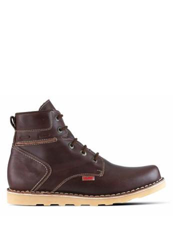 Sogno brown Sepatu Boot Pria GF.7821 CFDA4SH8F3290AGS_1