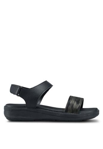Bata black Velcro Sandals 4D147SHF90DE44GS_1