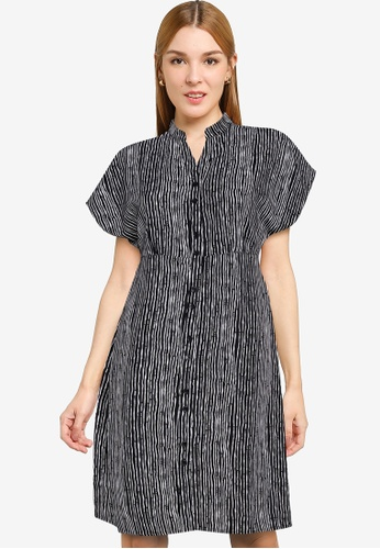 ZALORA WORK multi Drop Shoulder Relax Dress 9B839AA6F642C2GS_1
