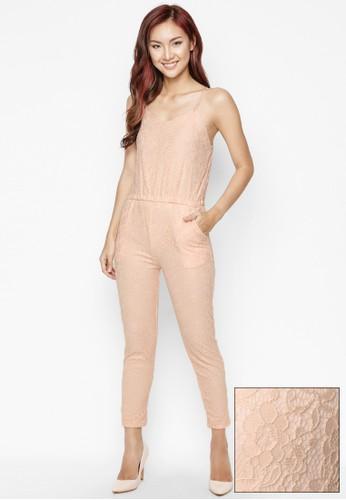 LOVADOVA INDONESIA pink and orange New York Pink Jumpsuit EFE3EAAE0C609DGS_1