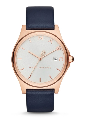 a4f390002df92 Buy Marc Jacobs Marc Jacobs Henry Blue Watch MJ1609 Online on ZALORA  Singapore