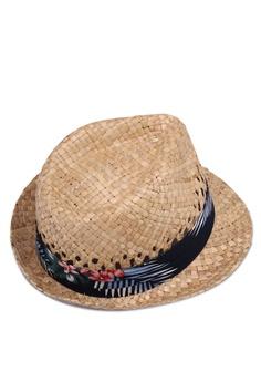 34665998d0e 10% OFF Burton Menswear London Woven Floral Trilby Hat HK  220.00 NOW HK   197.90 Sizes S M M L