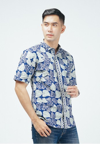 ENOM green and blue Nalesha Shirt 79BE8AAD2D55C6GS_1