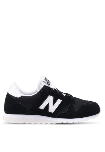 New Balance black 520 Lifestyle Sneakers 675CASH9A69359GS_1