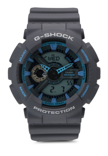 Casio grey Casio G Shock Watch GA-110TS-8A2DR 5547AACBD55BA4GS_1