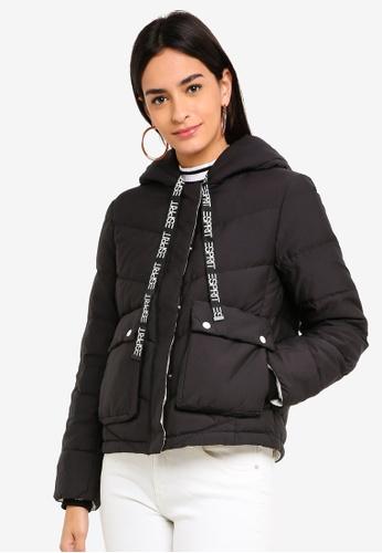 ESPRIT black Logo Tape Jacket 954FDAAABD7AFFGS_1