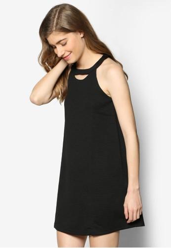 鏤空繞脖寬擺洋裝esprit outlet 旺角, 服飾, 洋裝
