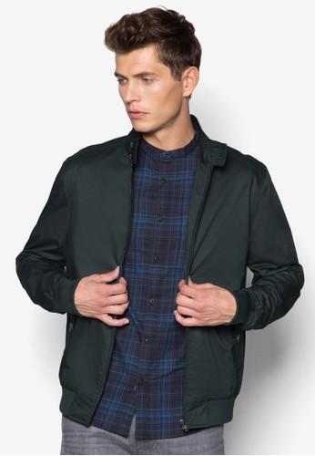 哈靈頓拉鍊外套, 服飾,zalora taiwan 時尚購物網 服飾