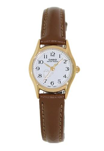 Casio brown Casio Jam Tangan Wanita - Brown Gold - Leather Strap - LTP-1094Q-7B8RDF C07BFAC99166B9GS_1