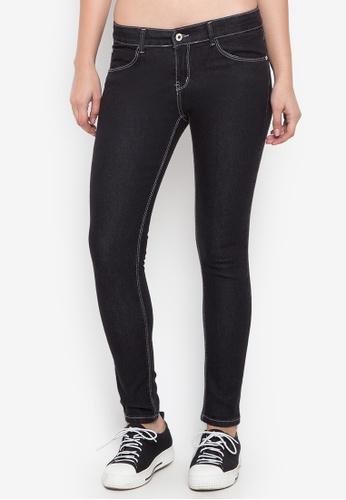 CHILI PEPPER black Fashion Skinny Black Jeans E4D80AA67E57F1GS_1