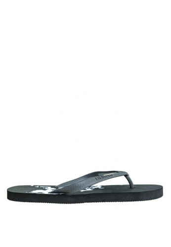 BENCH black Rubber Slippers BE550SH0KE48PH_1