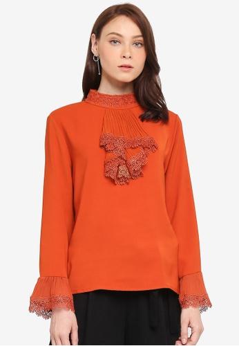 BYN orange Lolita Style Shirt 02C8FAA427C938GS_1