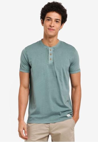 ESPRIT green Short Sleeve T-Shirt 0B5EEAA9AF9621GS_1