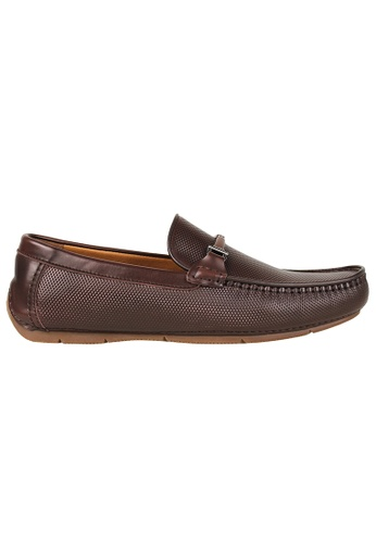 Tomaz brown Tomaz C361 Front Buckled Loafers (Coffee) 612DASH017EA9DGS_1