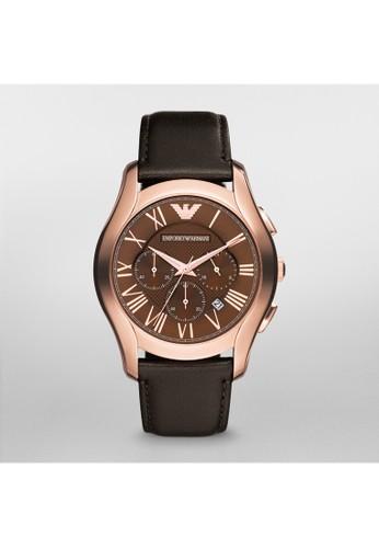 Emporio Armesprit 高雄ani VALENTE紳士系列腕錶 AR1701, 錶類, 紳士錶