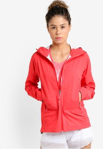 Odlo red Hardshell Engage Jacket OD608AA53JZQMY_1