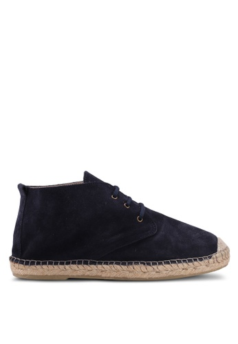 Selected Homme navy Hajo Suede Chukka Boots BB889SHA75F7B3GS_1