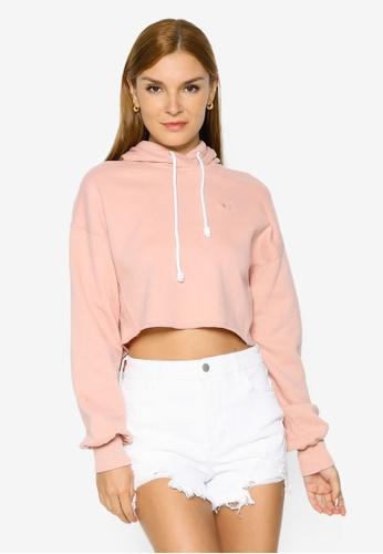 Hollister pink Casual Hoodie 6E01DAA11E64DDGS_1